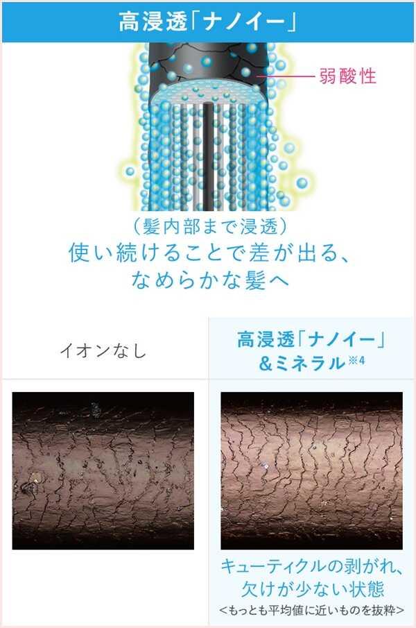 EH-NA0EとEH-NA9Eの違いを比較!くせ毛に効果的なのはどっち?